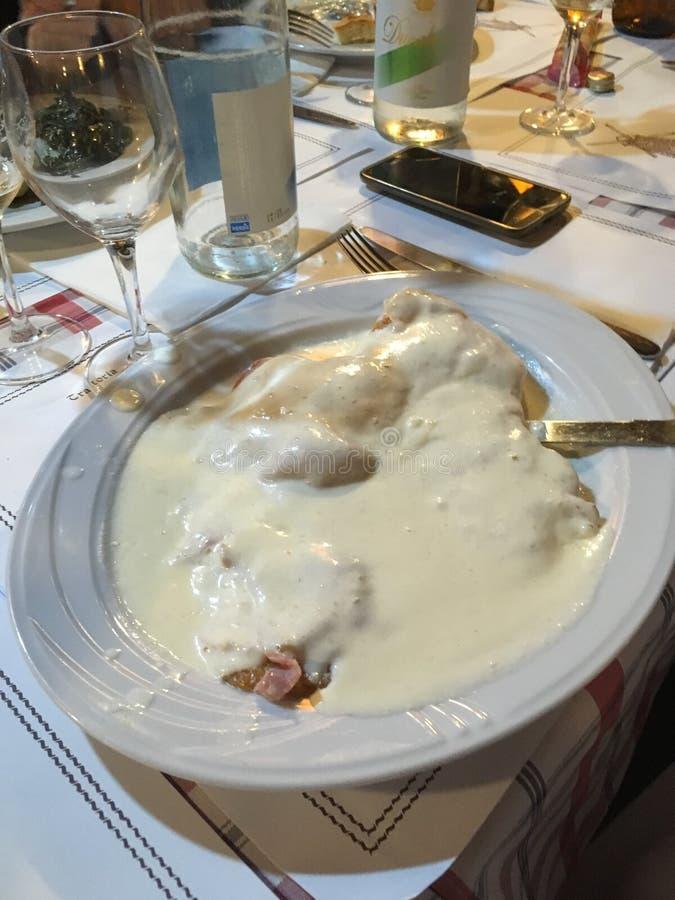 Cotoletta bolognese стоковые фотографии rf