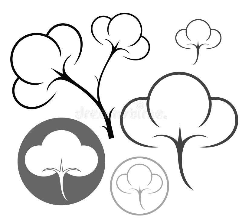 Cotone illustrazione vettoriale