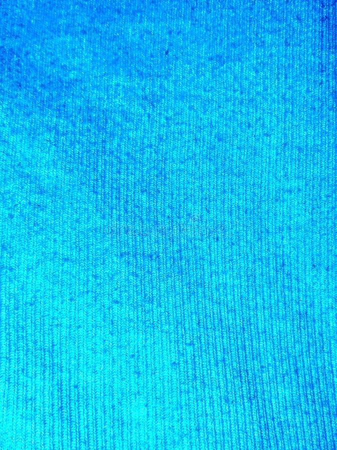 Cotone blu verticalmente costolato immagini stock
