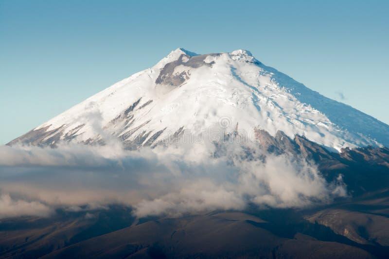 Cotopaxi火山,厄瓜多尔 免版税库存照片