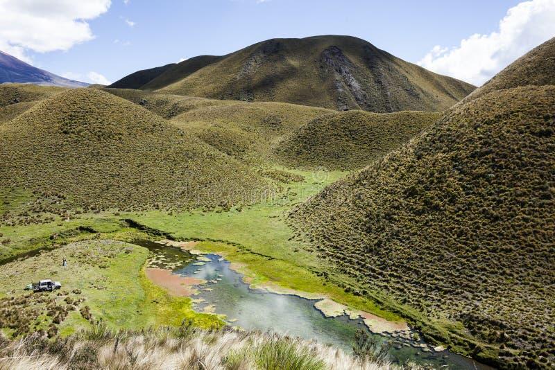 Cotopaxi nationalpark royaltyfri fotografi