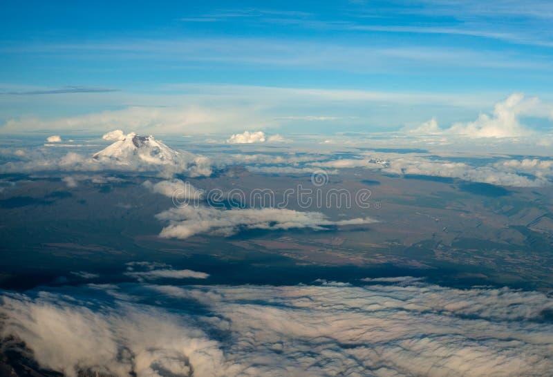 Cotopaxi o vulcão ativo o mais alto no mundo fotos de stock royalty free