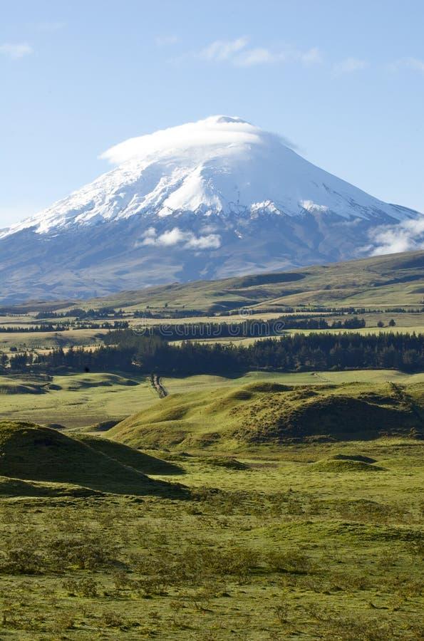 Cotopaxi Volcano in Ecuador royalty free stock photography