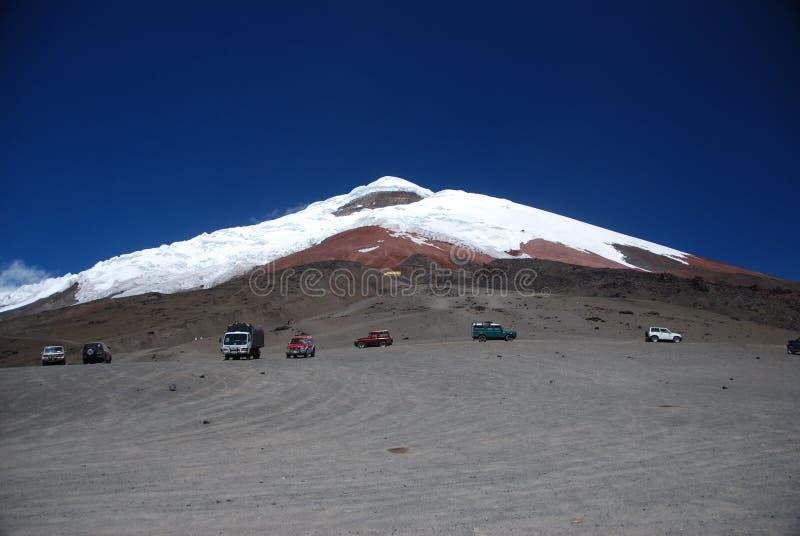 Cotopaxi Volcano - Ecuador stock photos