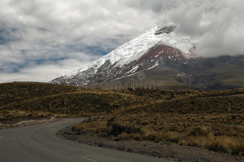 Download Cotopaxi Volcano stock photo. Image of landscape, andes - 34198462