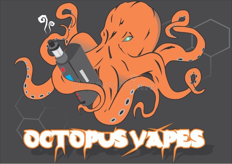 Cotopus Vapes royaltyfri bild