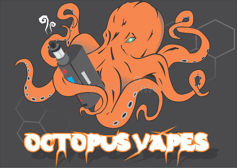 Cotopus Vapes royalty free stock image