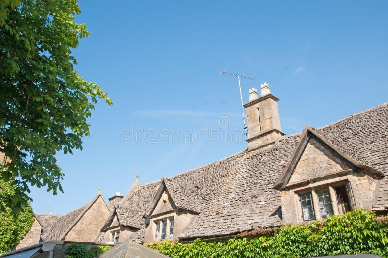 Cotswold dachy zdjęcie royalty free