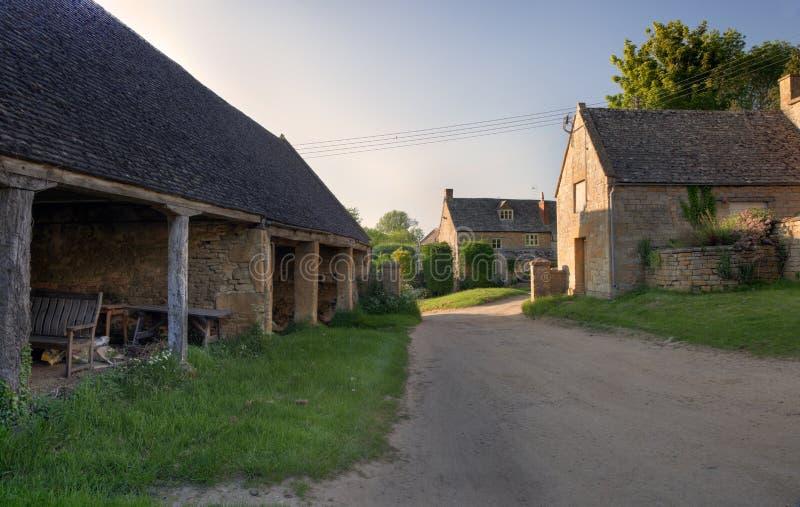 Cotswold lantgård fotografering för bildbyråer