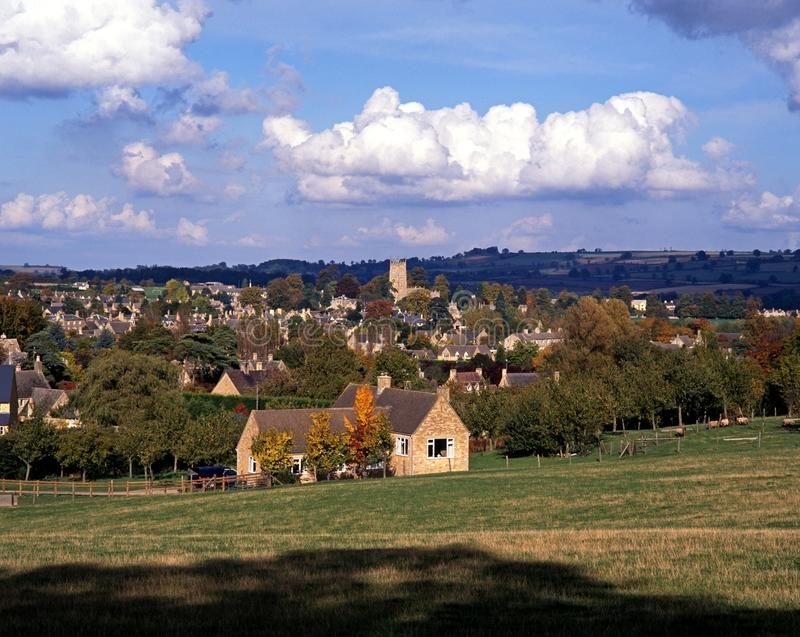 Cotswold village, Chipping Campden, England. royalty free stock image