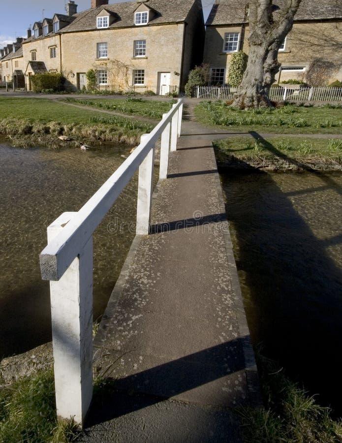 cotswolds英国gloucestershire更低的米德兰平原屠杀村庄 图库摄影