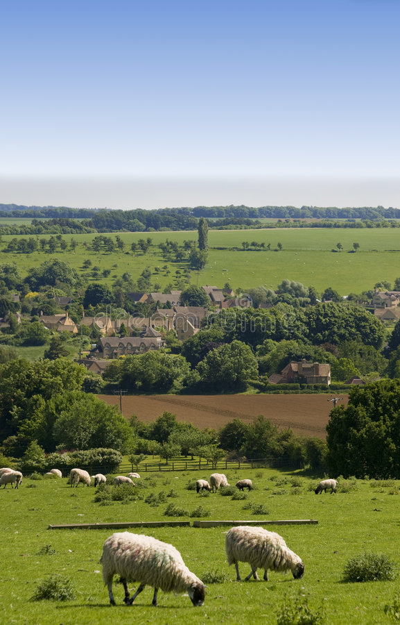 Cotswolds stockfotografie