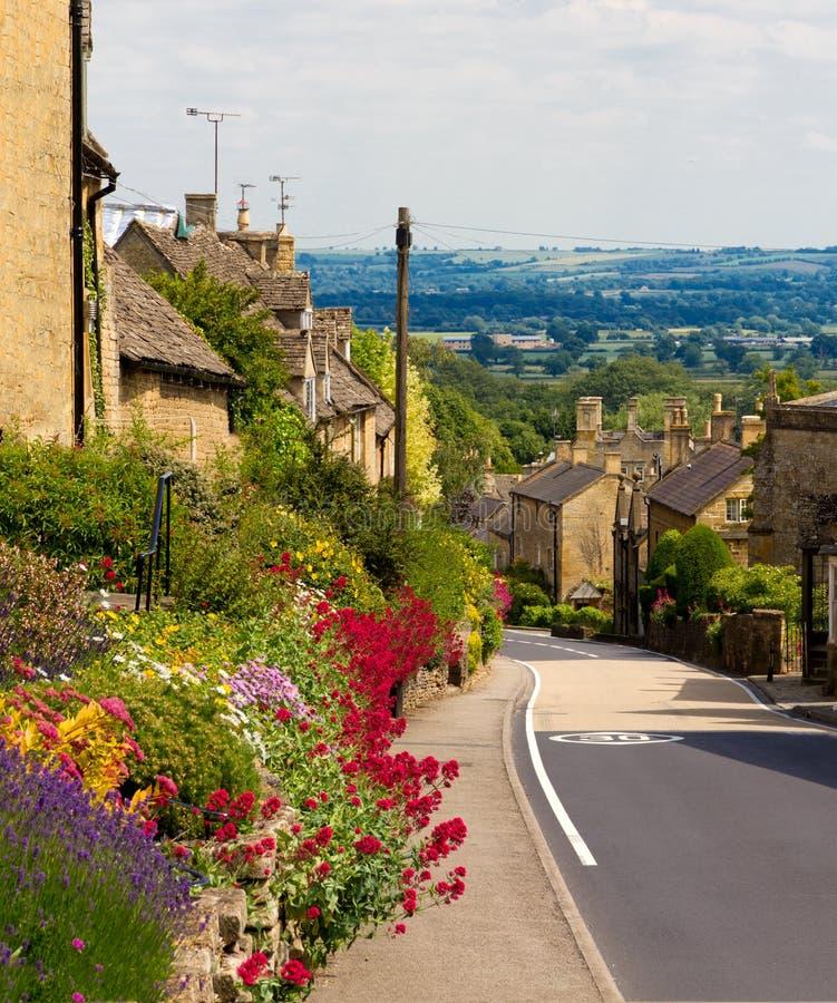 Cotswolds Dorf Bourton-auf-d-Hügel, Großbritannien