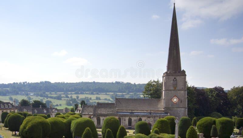 Cotswolds - Painswick pintorescos fotografía de archivo libre de regalías