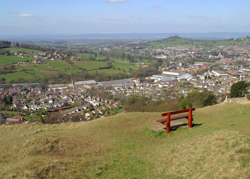 Cotswolds - Stroud scéniques photographie stock libre de droits