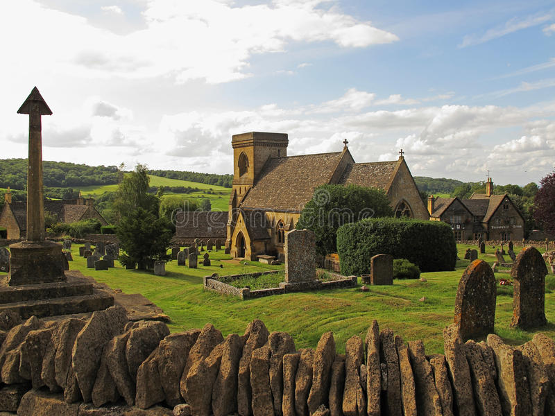 Cotswolds village royalty free stock images