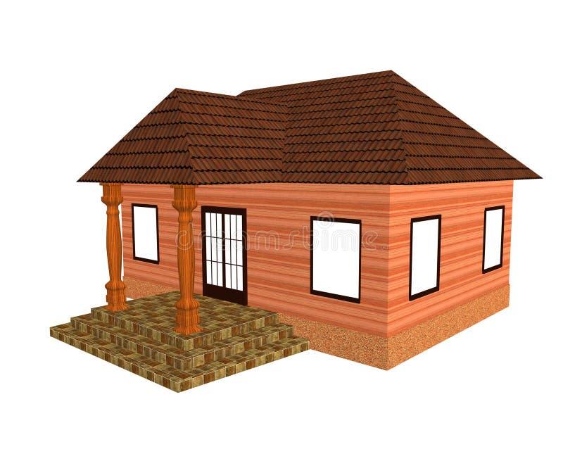 Download Cottage stock illustration. Image of cottage, residential - 9123966
