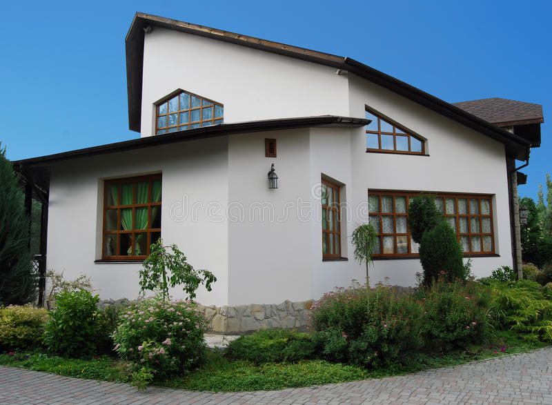 Download Cottage stock photo. Image of exterior, modern, building - 9788488