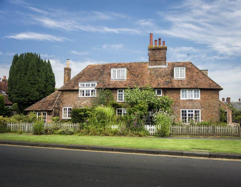 Cottage anglais de pays photos libres de droits