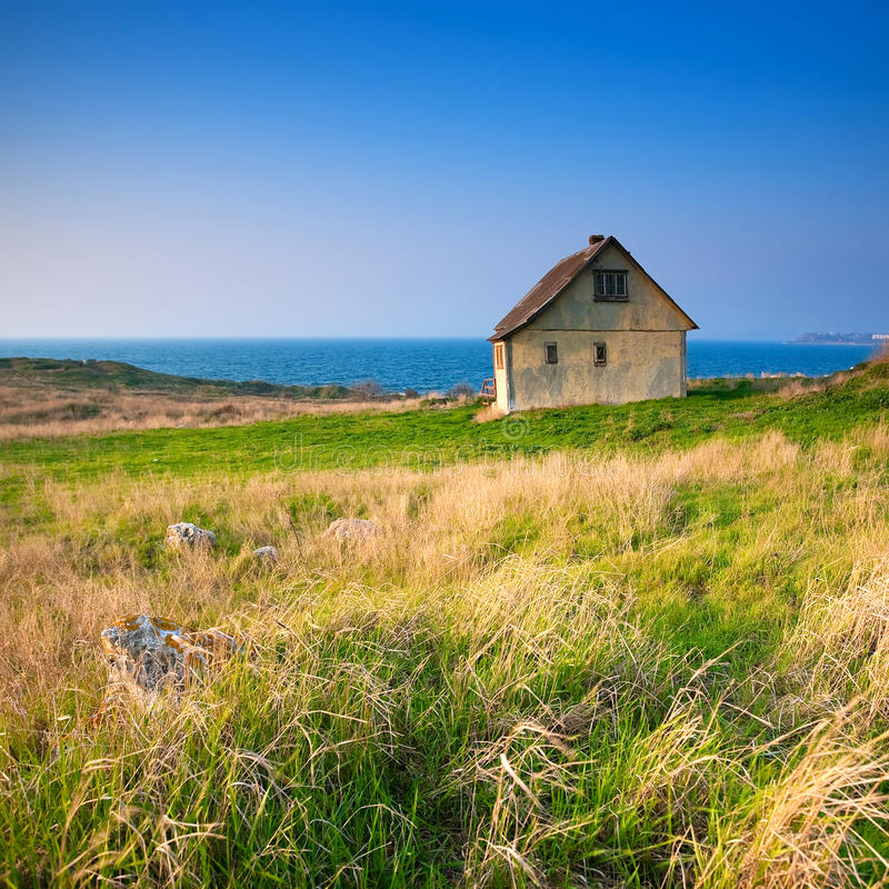 Free Cottage By The Sea Stock Images - 27159974