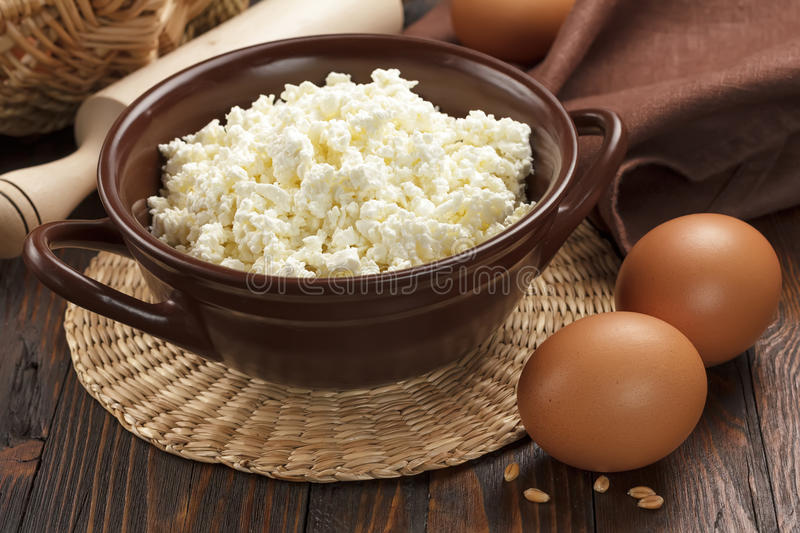 Download Cottage Cheese And Eggs Stock Photos - Image: 29427903