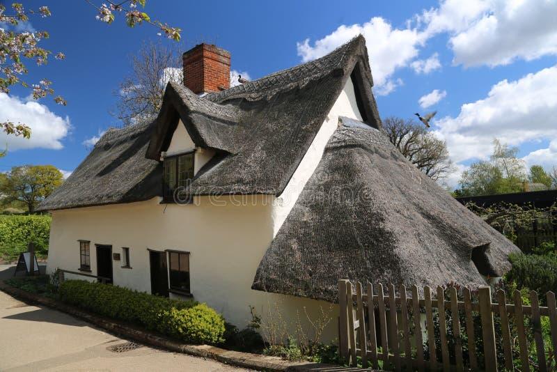 Cottage de Flatford photo libre de droits