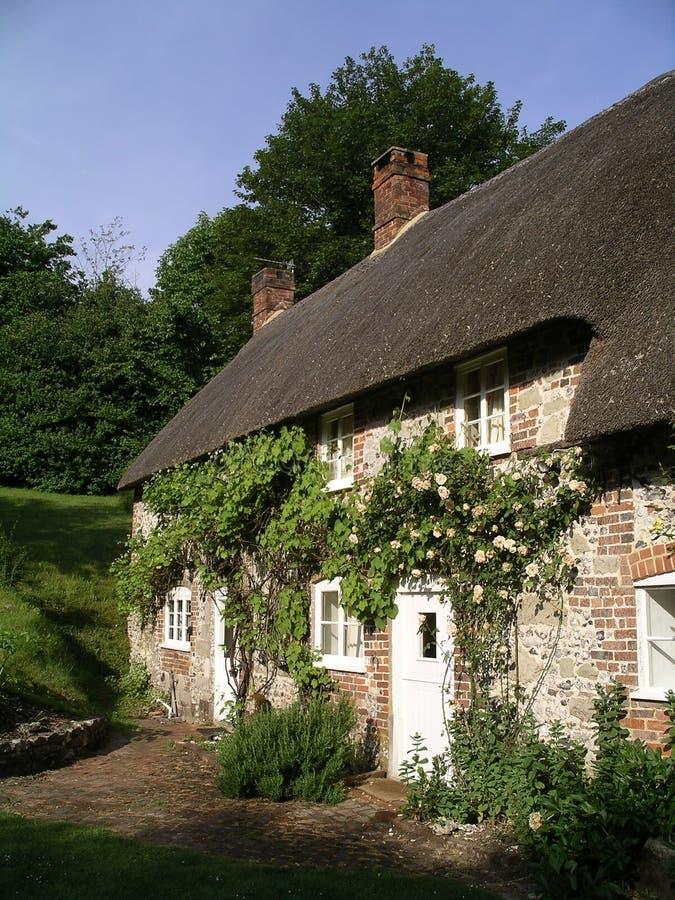 Cottage del Dorset, Inghilterra fotografia stock libera da diritti