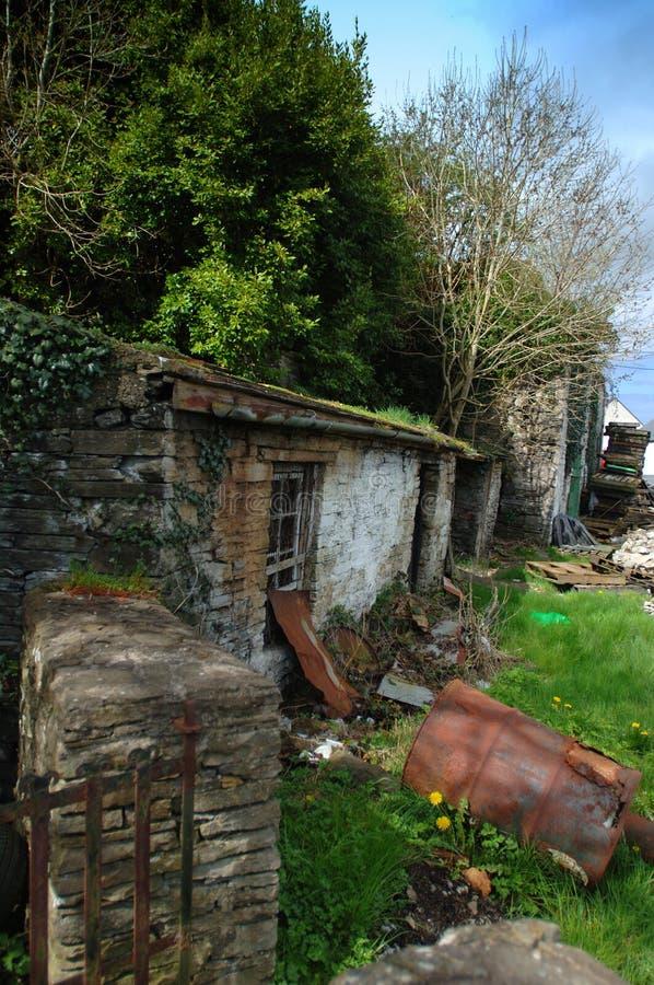 Cottage Del Fiume Fotografia Stock