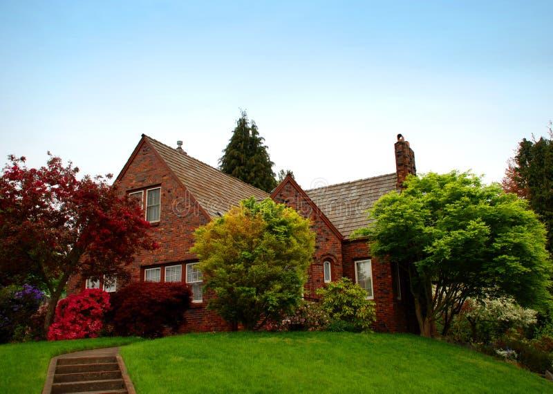 Cottage del paese fotografie stock