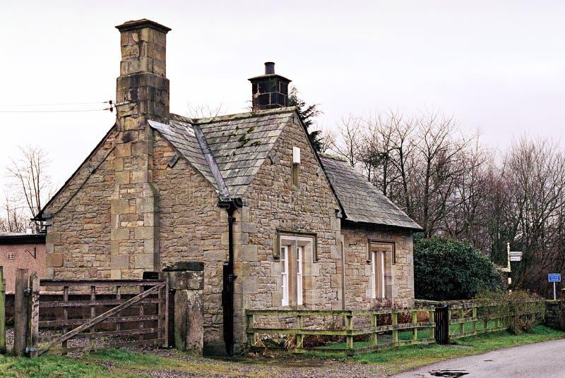 Cottage Del Paese Immagine Stock Libera da Diritti