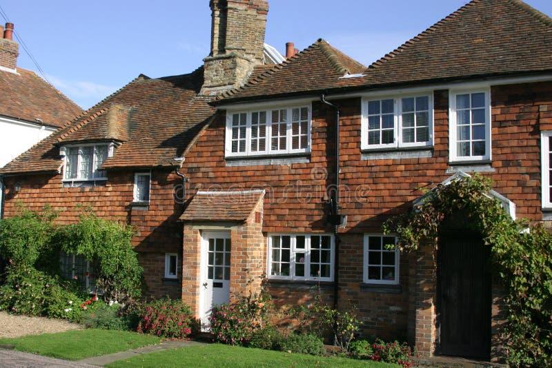 Cottage del villaggio fotografie stock libere da diritti