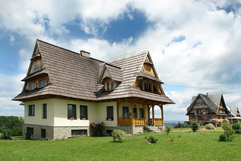 Cottage dell'altopiano fotografia stock