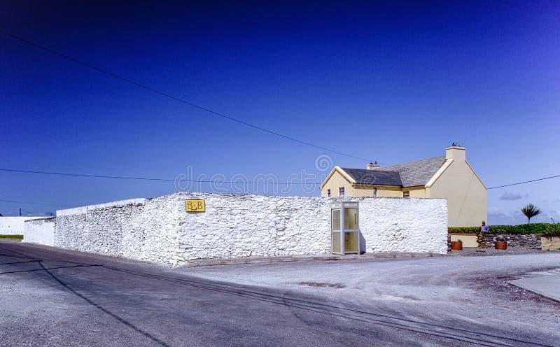 Cottage delle Dingle di bed and breakfast fotografie stock