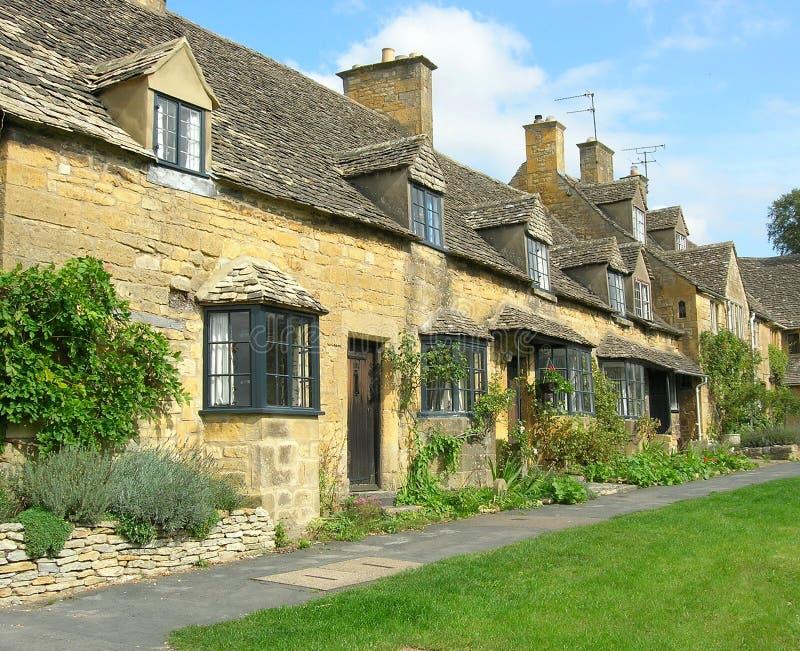 Cottage di Cotswold fotografia stock