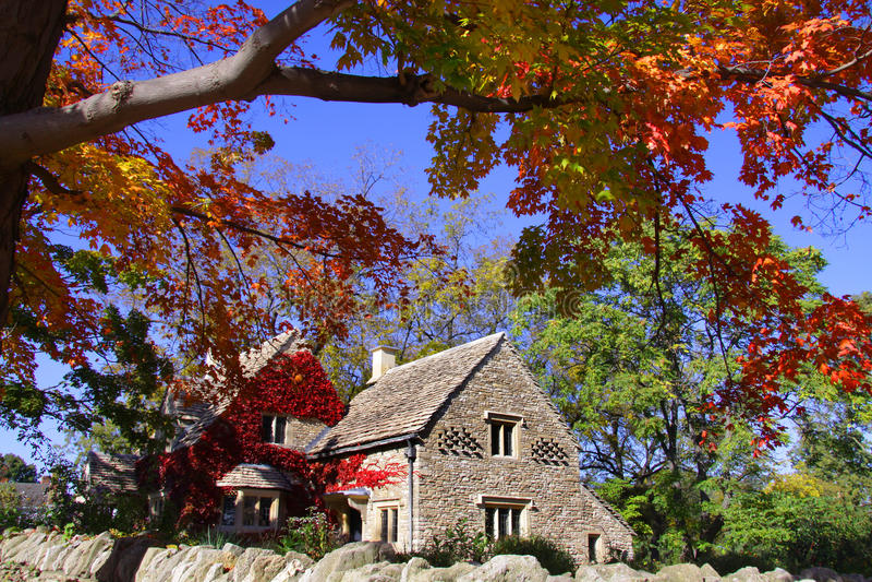 Cottage di Cotswold immagini stock libere da diritti