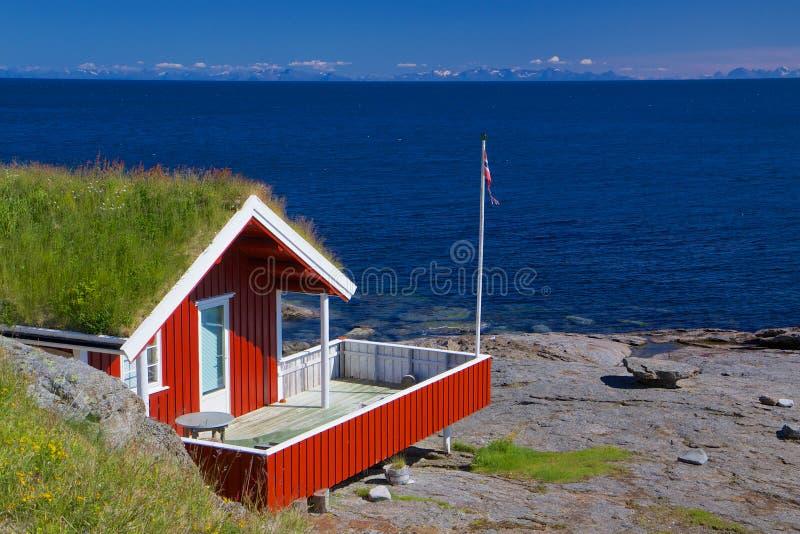 Cottage di festa fotografie stock