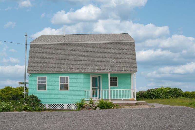 Cottage di Kennebunkport Maine fotografie stock