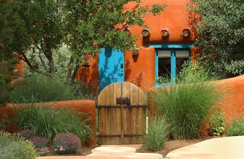Cottage di Santa Fe immagine stock libera da diritti