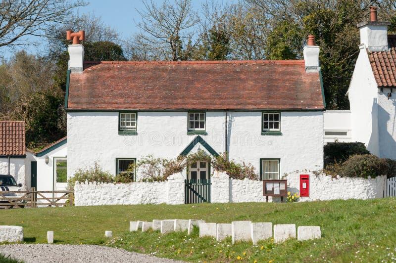 Cottage di vacanza di Lingua gallese immagini stock libere da diritti