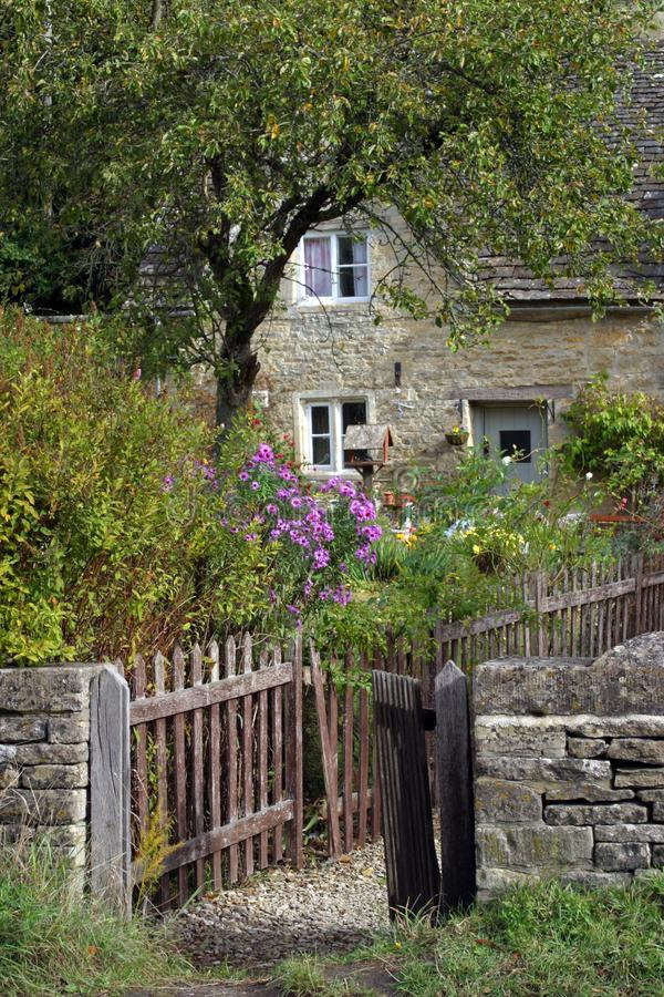Cottage garden royalty free stock photography