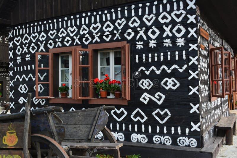 Cottage historique image libre de droits