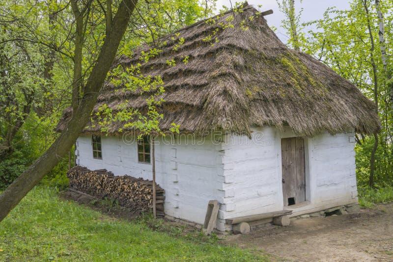 Cottage historique de halètement image stock