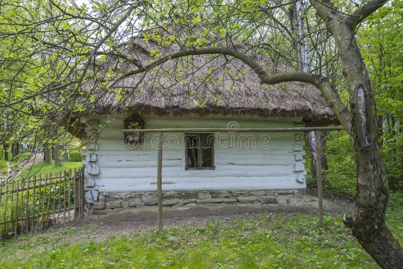 Cottage historique de halètement photographie stock libre de droits