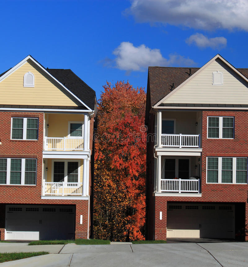 Download Cottage Houses Autumn Stock Image - Image: 34881771