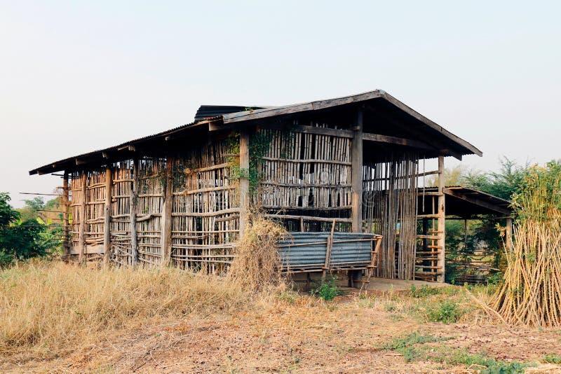 Cottage, hut old, old cottage stock image