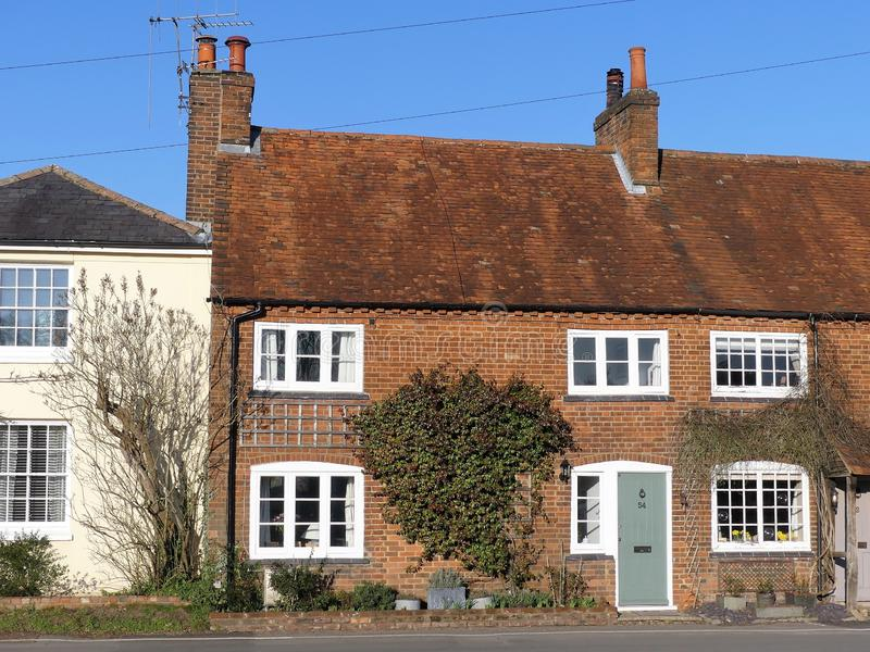 Cottage at 54 Latimer Road, Chenies royalty free stock photography
