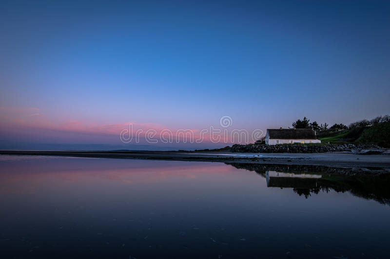 The Cottage in Laytown, Co. Meath, Ireland. 2. See site old cottage in Laytown, near Bettystown, Co. Meath, Ireland royalty free stock photography