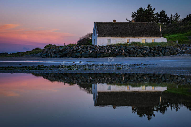 The Cottage in Laytown, Co. Meath, Ireland. 3. See site old cottage in Laytown, near Bettystown, Co. Meath, Ireland stock images