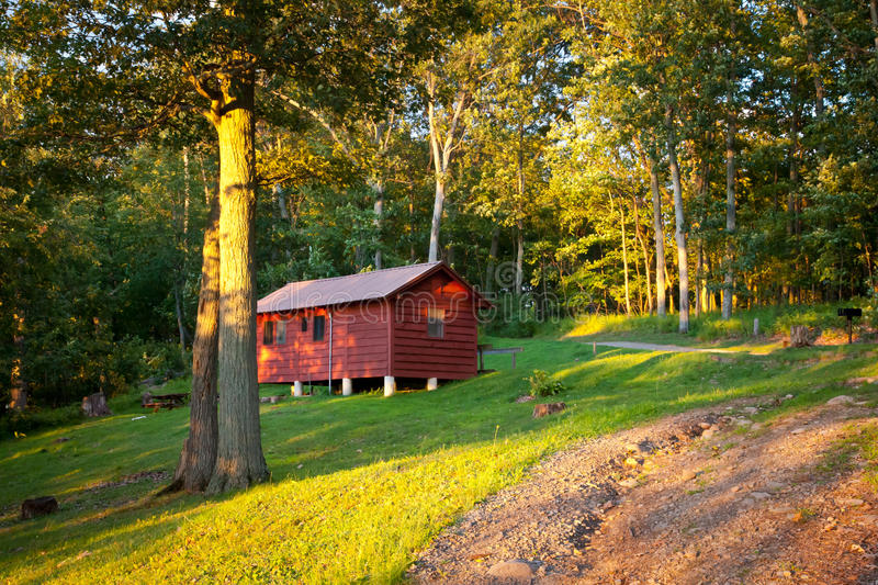Download Cottage in the park stock photo. Image of cottage, point - 32820748