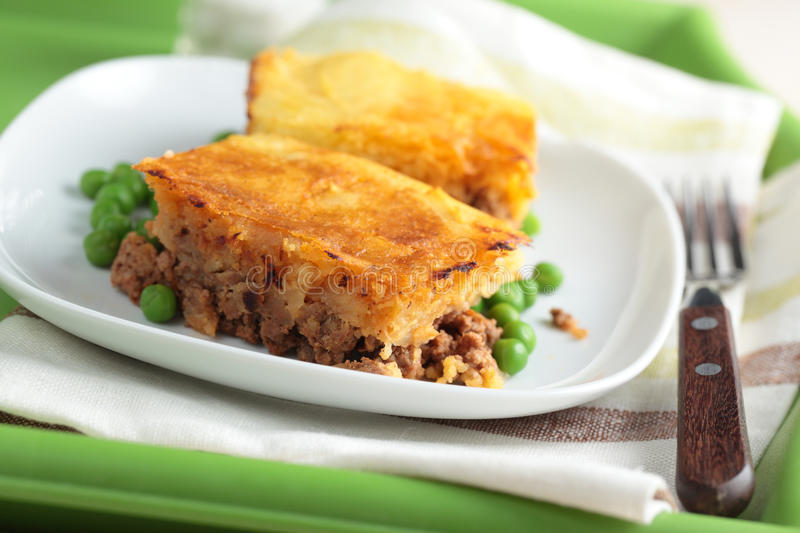 Download Cottage pie stock image. Image of shepherd, rustic, mashed - 25032389